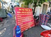 TP.HCM: Phong toả 2 con hẻm đường Lò Gốm, quận 6