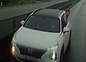 Lái xe đi ngược chiều, nhận mình say rượu để dọa người khác