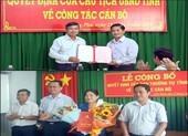 Sở GD&ĐT tỉnh Sóc Trăng có 2 tân Phó Giám đốc