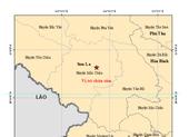 2 trận động đất liên tiếp tại Sơn La