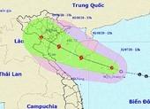 Áp thấp nhiệt đới đang ở trên vùng biển quần đảo Hoàng Sa
