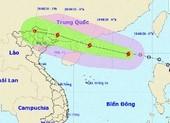 Bão số 4 giật cấp 10 trên biển Đông