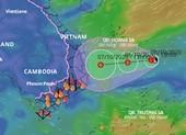 Áp thấp nhiệt đới gây mưa lớn khu vực miền Trung