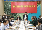 Phó Thủ tướng đề nghị báo cáo việc lập bản đồ cảnh báo sạt lở