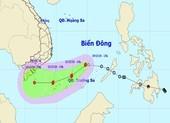 Áp thấp nhiệt đới mạnh lên thành bão số 14 trên Biển Đông