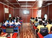 Bàn giao trường học di động tại tỉnh Vĩnh Long