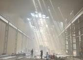 Công ty Tôn Hoa Sen tại Bình Dương bị cháy