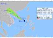 Vùng áp thấp trên Biển Đông đang mạnh lên, Bắc bộ nhiều nơi mưa to