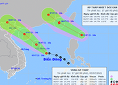 Khả năng 2 cơn áp thấp nhiệt đới sẽ vào Biển Đông, 1 mạnh thành bão
