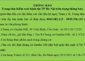 4 ca dương tính COVID-19, Hà Nội thông báo khẩn