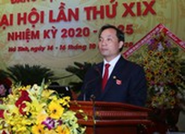 Công bố kết quả nhân sự Đại hội Đảng bộ Hà Tĩnh khóa XIX