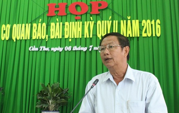 Ông Lê Văn Tâm - Phó Chủ tịch thường trực UBND TP Cần Thơ. Ảnh: GIA TUỆ