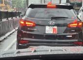 Xuất hiện nhiều hành vi che biển số xe để tránh phạt nguội