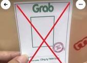 Rao bán thẻ đi đường giả có logo, con dấu của Grab