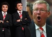 Sir Alex Ferguson mắc sai lầm, chửi thề vì cặp song sinh