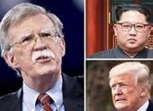 Cố vấn An ninh Quốc gia Mỹ John Bolton có mặt ở Hà Nội