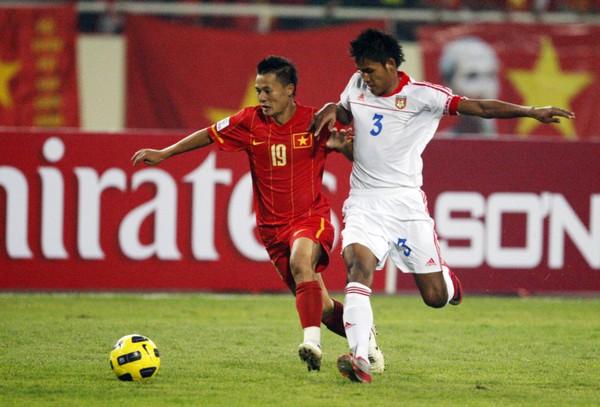 Thành Lương luôn thi đấu hết mình và hiệu quả trên sân bóng