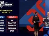Việt Nam cùng bảng B với Malaysia, Indonesia ở AFF Cup