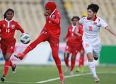 Hải Yến ghi 6 bàn trong trận Việt Nam đè bẹp Maldives 16-0