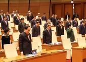 Quốc hội mặc niệm đồng bào, chiến sĩ tử nạn do lũ