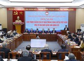 MTTQ Việt Nam thay đổi người ứng cử đại biểu Quốc hội khóa XV