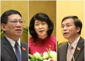 Quốc hội miễn nhiệm Phó Chủ tịch nước và nhiều chức danh khác