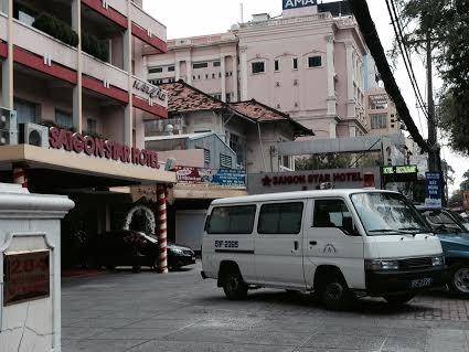 Khách sạn Sai Gon Star, nơi xảy ra vụ việc