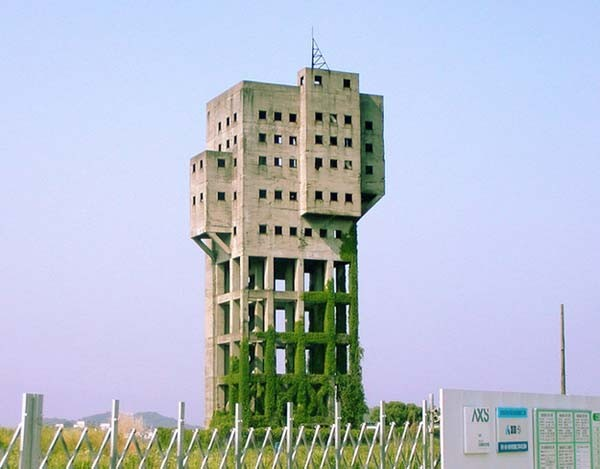 7.) The Winding Tower Shime Coal Mine, a safe tower that could easily be defended.