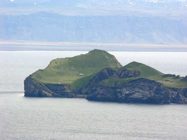 2.) Bjork's 'home' on Elliðaey near Vestmannaeyjar