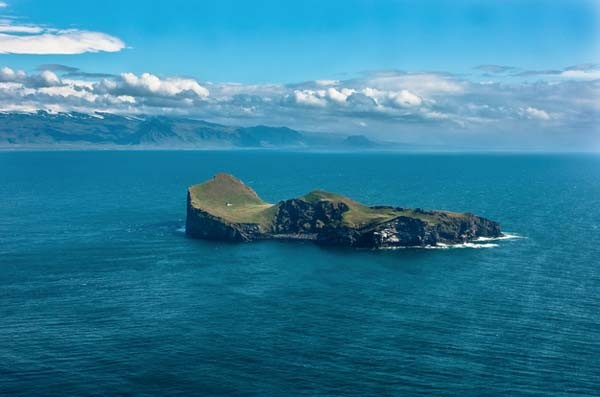 This island was given to her by Iceland (although she never accepted), and it's so secluded you may have trouble reaching it.