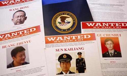 Các quan chức quân đội Trung Quốc đang bị Mỹ truy tố. Ảnh: AP.
