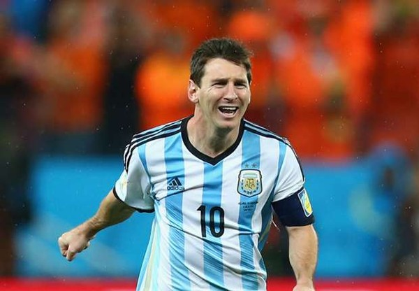 Messi, Argentina, Đức