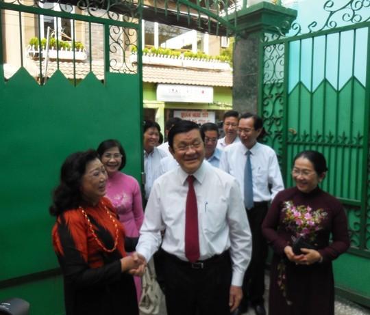 NSND Kim Cương đề xuất với Chủ tịch nước 2 vấn đề tâm huyết