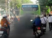 Thanh tra Sở GTVT kiểm tra khí thải tại Bến xe Miền Tây