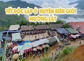 Người Mông biên giới nô nức xuống chợ mừng tết Độc lập