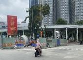 Cấm các phương tiện lưu thông trên cầu vượt Nguyễn Hữu Cảnh