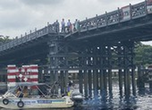 Cầu sắt An Phú Đông có khả năng lại bị trễ hẹn