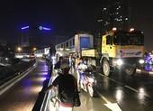 Hành trình di chuyển của toa tàu metro trong đêm