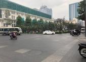 Hạn chế lưu thông khu vực đường Nguyễn Huệ, quận 1