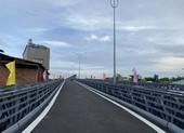 Lần thứ 3 Sở GTVT yêu cầu xử xe vi phạm qua cầu thép tạm