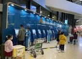 Sân bay vắng khách ngày đầu năm