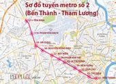 Dự kiến giữa năm 2022 sẽ khởi công metro số 2 ở TP.HCM