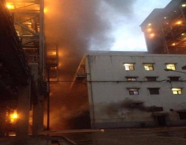 cháy nhà máy 1