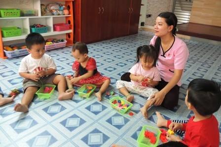 Đề án thí điểm giữ trẻ 6 - 18 tháng ráo riết chuẩn bị nhưng... vắng trẻ theo học (Ảnh minh họa)
