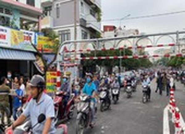 Chính thức thông xe cầu sắt An Phú Đông
