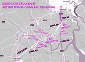 3 cây cầu kết nối Long An với TP.HCM và ĐBSCL