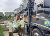 Xe tải chở cả tấn hàng không hóa đơn chứng từ