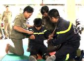 Tập huấn phòng cháy chữa cháy cho người dân và cán bộ