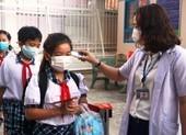 TP.HCM: Học sinh, giáo viên khai báo y tế sau kỳ nghỉ lễ