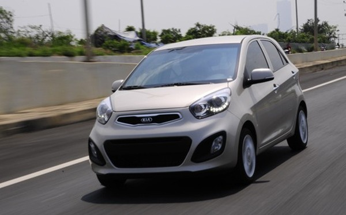 Thaco Kia giảm giá xe Morning LX